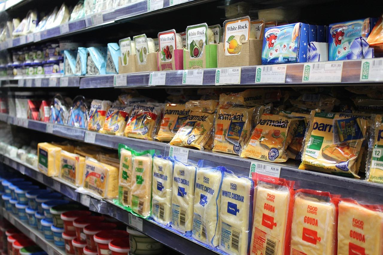 Покупка скоропортящихся продуктов при входе в магазин
